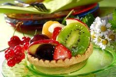 cakefrukt Arkivfoto