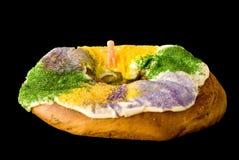 cakegras görar till kung mardi Royaltyfri Fotografi