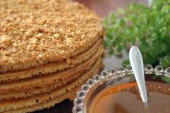cakehonung Royaltyfria Bilder