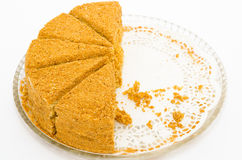 cakehonung Arkivfoton