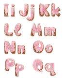 cakeiq-bokstäver royaltyfri illustrationer