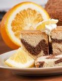 cakeorange Arkivfoton