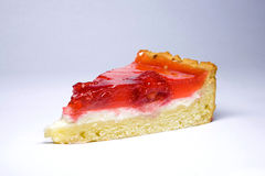 cakeostjordgubbar Royaltyfria Bilder