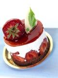 cakeostjordgubbe Fotografering för Bildbyråer