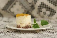 cakeostorange royaltyfria foton