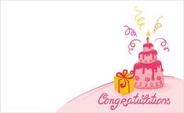 cakepink Royaltyfria Bilder