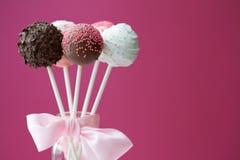 cakepops Royaltyfri Fotografi
