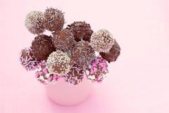 Cakepops Royaltyfri Bild