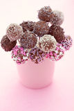 cakepops royaltyfria foton