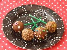 Cakepops 免版税图库摄影