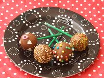 Cakepops Royalty Free Stock Photography