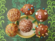 Cakepops Royalty Free Stock Photo