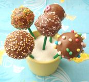 Cakepops Royalty Free Stock Photos