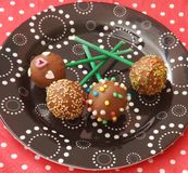Cakepops Stock Image