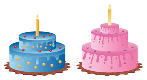 cakes vektor illustrationer