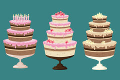 Cakes! Royalty Free Stock Photo