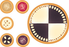 cakes Arkivfoton