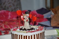 cakes Royaltyfri Fotografi