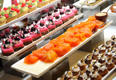 Cakes assortment Royalty Free Stock Photography