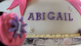 Cakes stock video footage