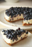 Cakes and biscuits with blackberry and cream Royalty Free Stock Images