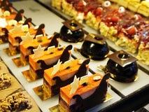 Cakes in café Wenen Stock Foto