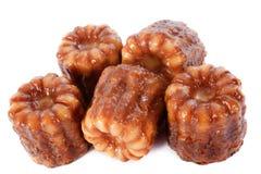 Cakes canneles Stock Photo
