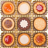 Cakes collection Royalty Free Stock Image