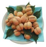 cakes croatia peach speciality Royaltyfria Foton