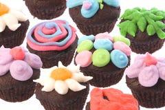 cakes cup isolerat Arkivbilder