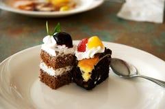 Cakes dessert Stock Photography
