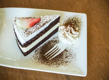 Cakes. Different types of cakes in thailand Stock Image