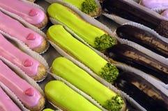 Cakes in een gebakje Stock Foto's
