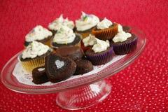Cakes in een koepel Royalty-vrije Stock Afbeelding