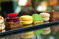 Cakes en koekjes Royalty-vrije Stock Afbeelding