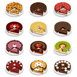 Cakes en pastei Stock Fotografie