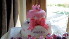 Cakes stock video