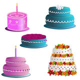 Cakes Royalty Free Stock Photography