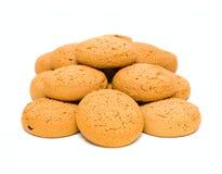 Cakes isolated on white Royalty Free Stock Photo