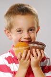 cakes little tho Royaltyfri Bild
