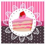 Cakes logo Royalty Free Stock Image