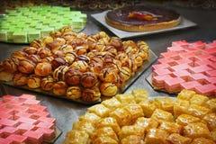 Cakes och bakelser Royaltyfri Foto