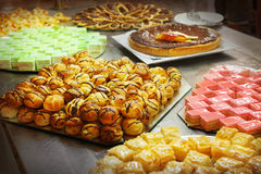 Cakes and pastries Royalty Free Stock Images