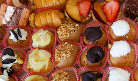 Cakes and pastries Stock Photography