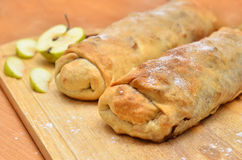 Cakes - roll strudel Stock Image