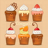 Cakes. Royalty Free Stock Photography