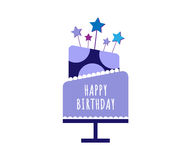 Cakes set, Birthday and wedding Royalty Free Stock Photos