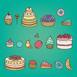 Cakes 2 Royalty Free Stock Image