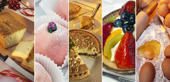 Cakes, Sweets, Deserts - Baking Royalty Free Stock Photo