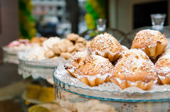 Cakes, sweets, pastries Stock Photo